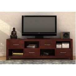 Weston Tv Unit (Mahogany Finish)