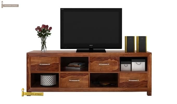 Weston Tv Unit (Teak Finish)-1