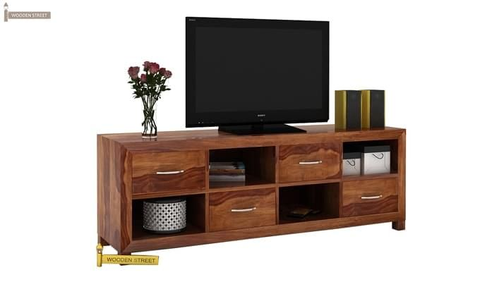 Weston Tv Unit (Teak Finish)-2