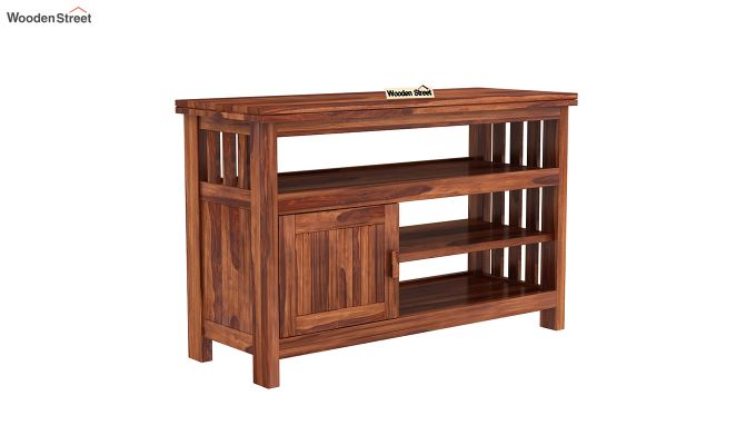 Willis Tv Unit (Honey Finish)-2