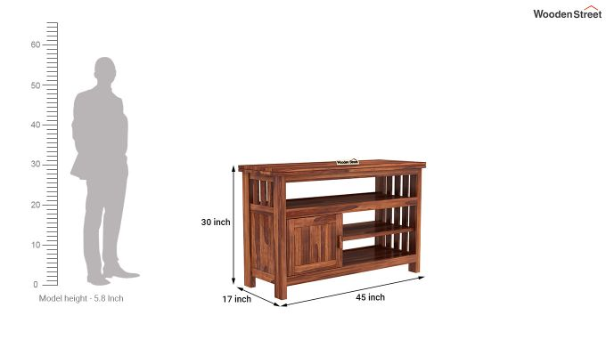 Willis Tv Unit (Honey Finish)-5