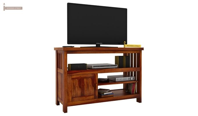 Willis Tv Unit (Honey Finish)-1