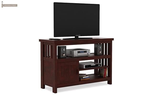 Willis Tv Unit (Mahogany Finish)-2
