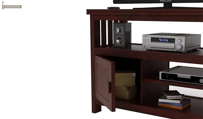 Willis Tv Unit (Mahogany Finish)-5