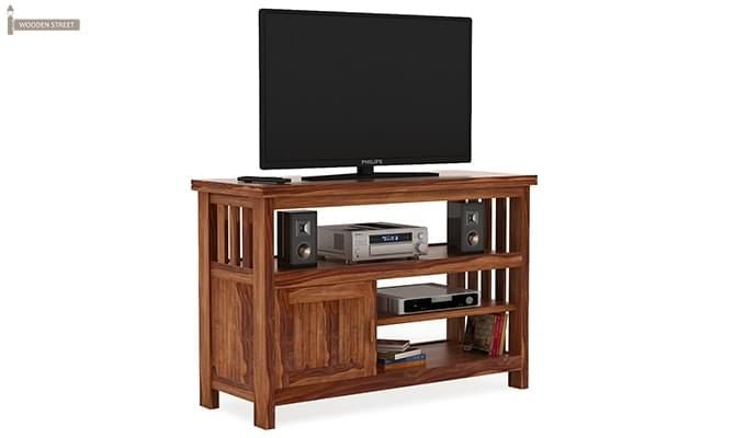 Willis Tv Unit (Teak Finish)-1