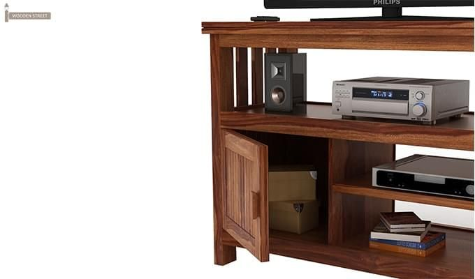 Willis Tv Unit (Teak Finish)-4