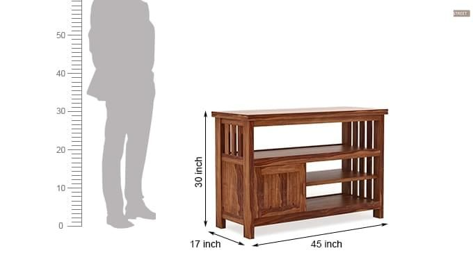 Willis Tv Unit (Teak Finish)-5