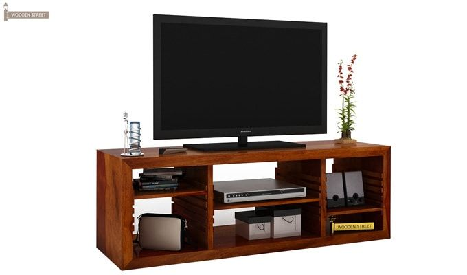 Wilmor Tv Unit (Honey Finish)-2