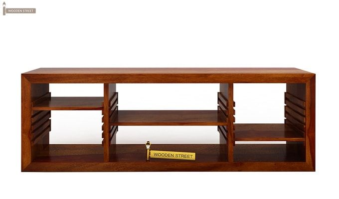Wilmor Tv Unit (Honey Finish)-3
