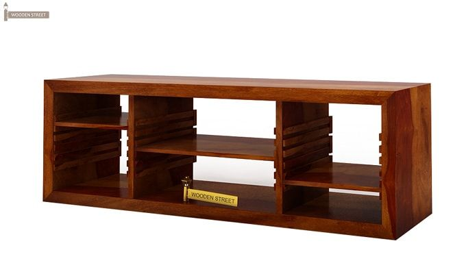 Wilmor Tv Unit (Honey Finish)-4