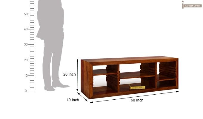 Wilmor Tv Unit (Honey Finish)-5