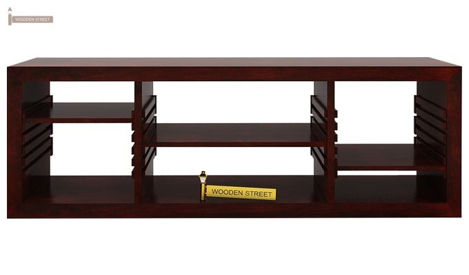 Wilmor Tv Unit (Mahogany Finish)-2