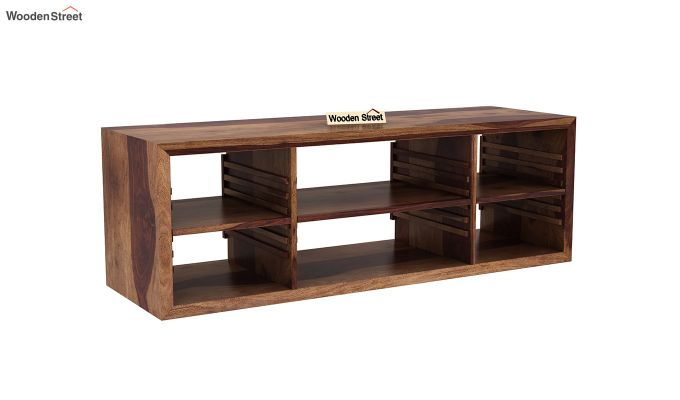 Wilmor Tv Unit (Teak Finish)-2
