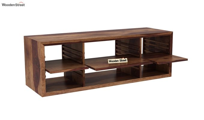 Wilmor Tv Unit (Teak Finish)-4
