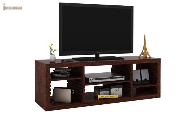 Wilmor Tv Unit (Walnut Finish)-1