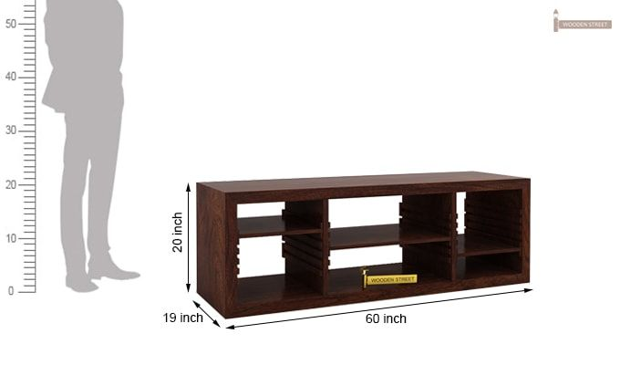 Wilmor Tv Unit (Walnut Finish)-4