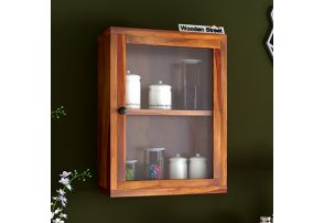Buy The Best Wooden Kitchen Shelf Online At Low Price