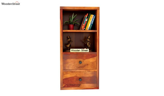 Darcia Wall Shelf (Honey Finish)-3