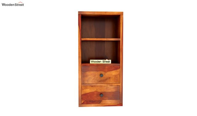Darcia Wall Shelf (Honey Finish)-5