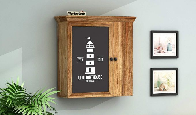 Ducal Lighthouse Print Wall Shelf-1