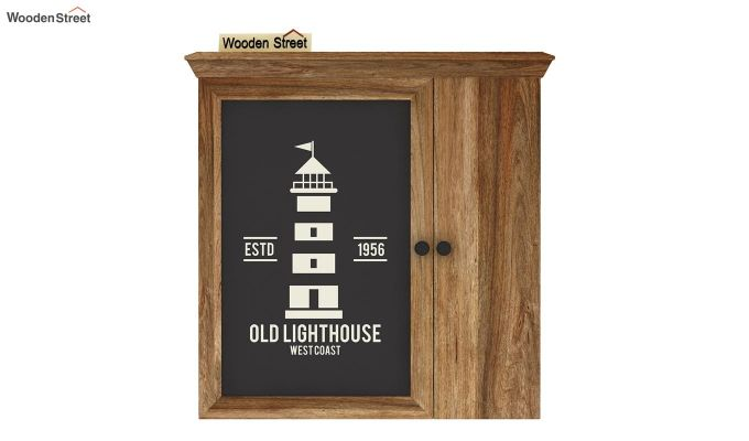 Ducal Lighthouse Print Wall Shelf-3