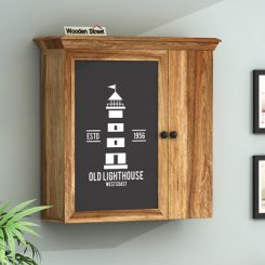 Ducal Lighthouse Print Wall Shelf
