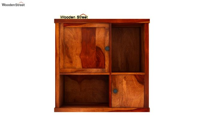 Ripley Wall Shelf (Honey Finish)-4