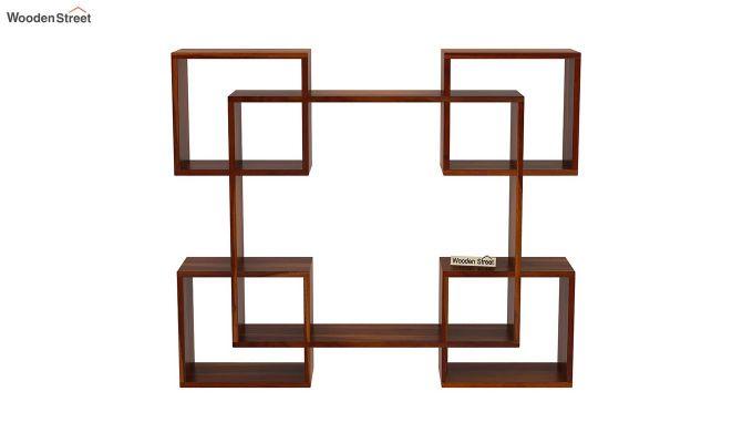 Squire Wall Shelf (Honey Finish)-3