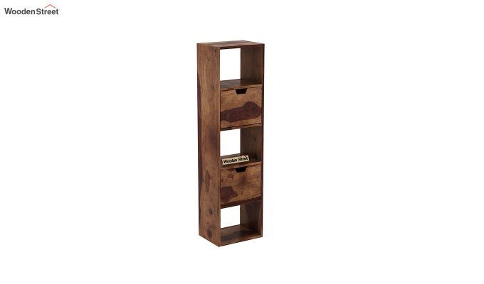 Adder Wall Shelf (Teak Finish)-2