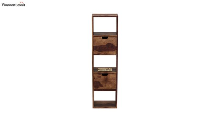 Adder Wall Shelf (Teak Finish)-3