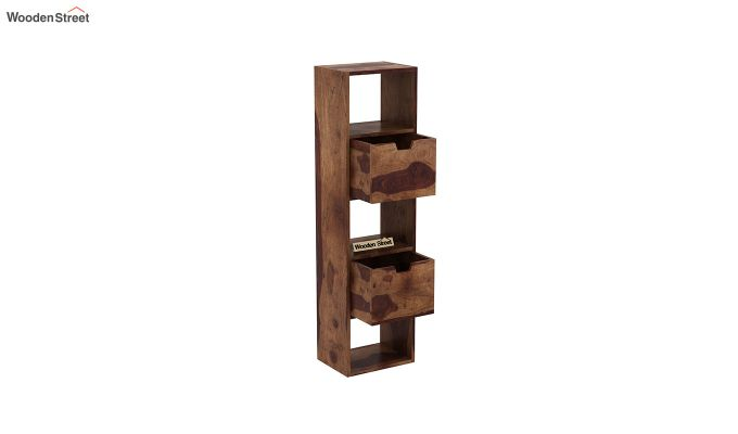 Adder Wall Shelf (Teak Finish)-4