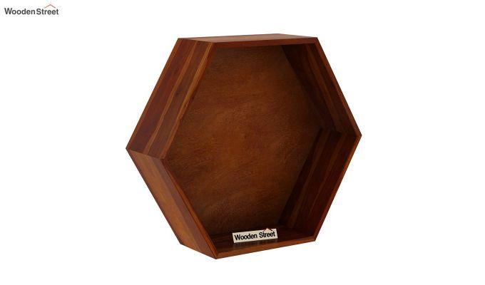 Arlo Wall Shelf (Honey Finish)-2