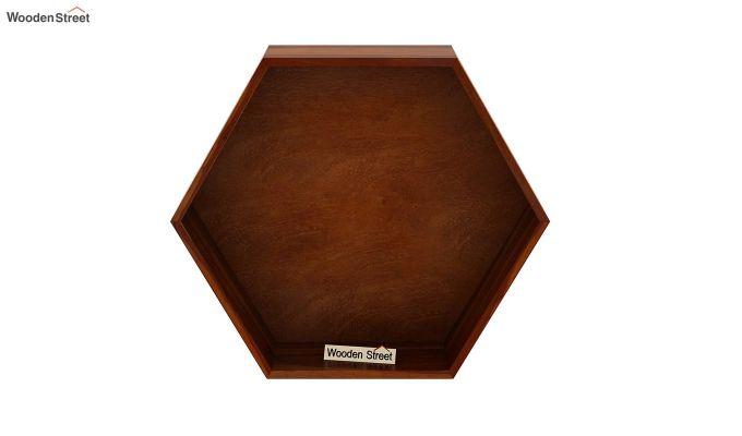 Arlo Wall Shelf (Honey Finish)-3