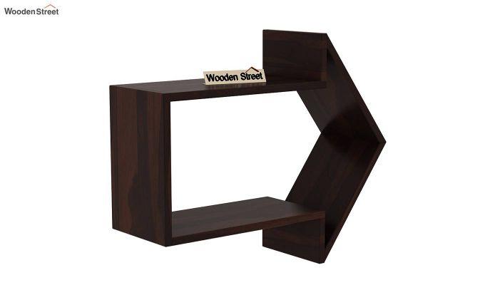 Arrow Wall Shelf (Walnut Finish)-2