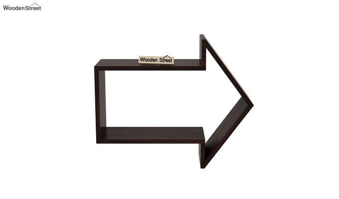 Arrow Wall Shelf (Walnut Finish)-3