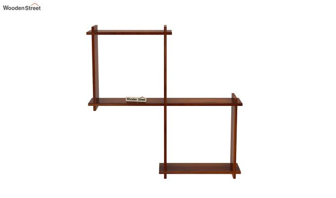 Bison Wall Shelf (Honey Finish)-3
