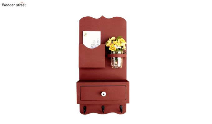 Bronx Wall Shelves With Storage Drawer-1