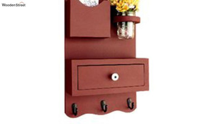 Bronx Wall Shelves With Storage Drawer-4