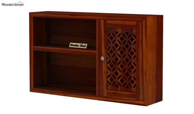 Cambrey Wall Shelf (Honey Finish)-4