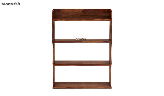 Cascade Wall Shelf (Teak Finish)-3