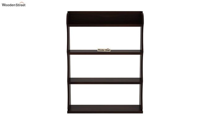Cascade Wall Shelf (Walnut Finish)-3