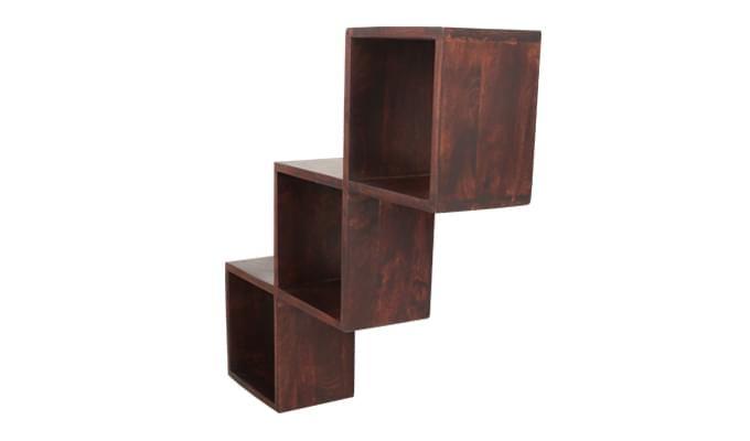 Cassain Wall Cabinets (Mahogany Finish)-3