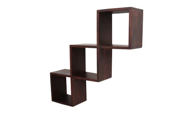 Cassain Wall Cabinets (Mahogany Finish)-4