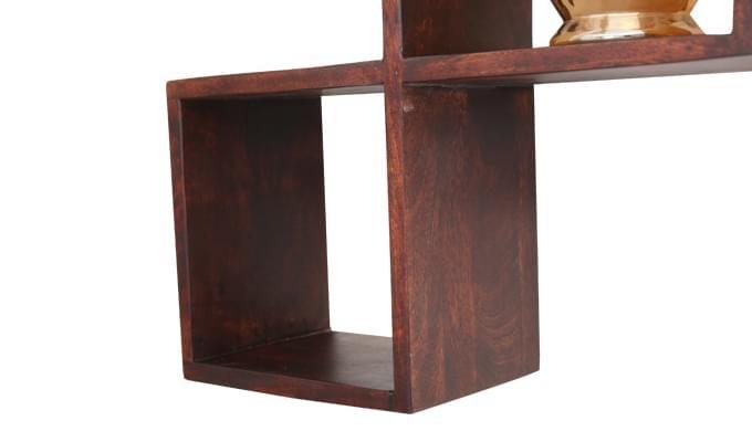 Cassain Wall Cabinets (Mahogany Finish)-6