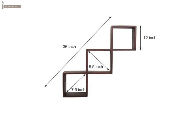 Cassain Wall Cabinets (Mahogany Finish)-7