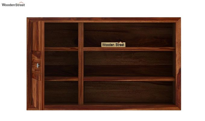 Claudia Wall Shelf (Teak Finish)-6