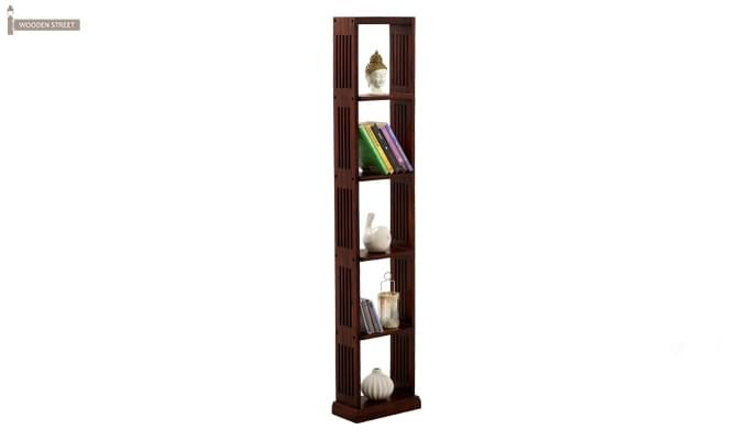 Delphia Wall Shelf (Mahogany Finish)-1