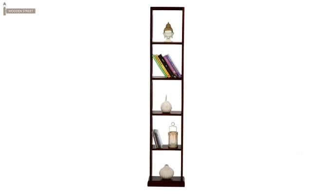 Delphia Wall Shelf (Mahogany Finish)-2