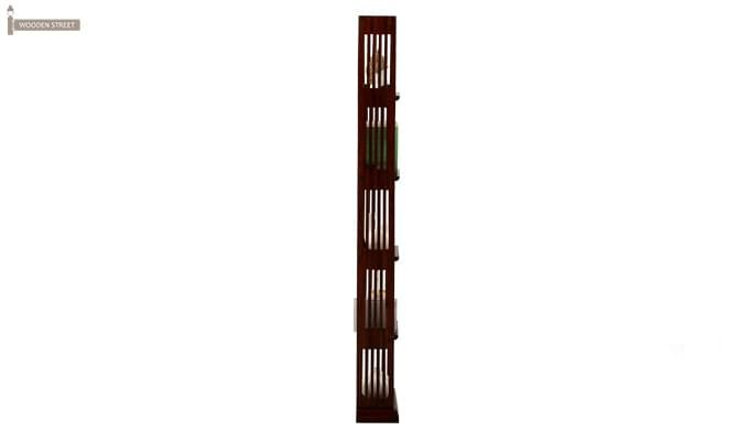 Delphia Wall Shelf (Mahogany Finish)-3