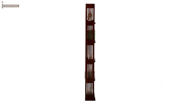 Delphia Wall Cabinets (Mahogany Finish)-3